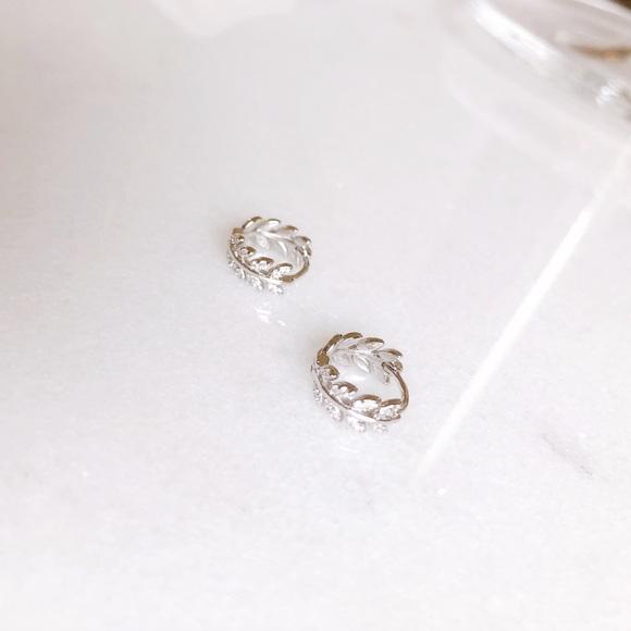 S925 mini hoop earrings